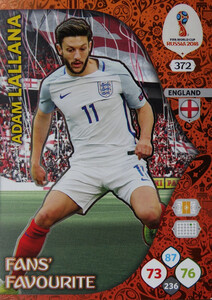 WORLD CUP RUSSIA 2018 FANS FAVOURITE LALLANA 372