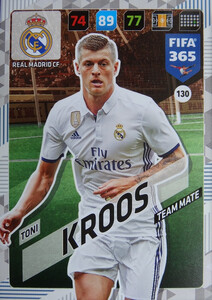 2018 FIFA 365 TEAM MATE Toni Kroos #130
