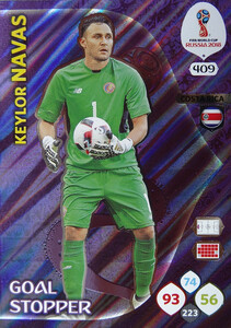 WORLD CUP RUSSIA 2018 GOAL STOPPER NAVAS 409