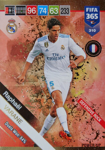 2019 FIFA 365  DEFENSIVE ROCK VARANE 310
