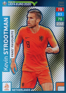 ROAD TO EURO 2020 FANS FAVOURITE Kevin Strootman #260