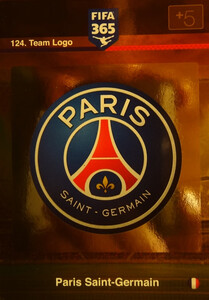 2016 FIFA 365 TEAM LOGO PARIS SAINT-GERMAIN #124