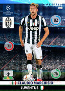 2014/15 CHAMPIONS LEAGUE® TEAM MATE Claudio Marchisio #148
