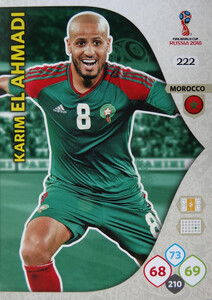 WORLD CUP RUSSIA 2018 TEAM MATE MAROKO EL AHMADI 222