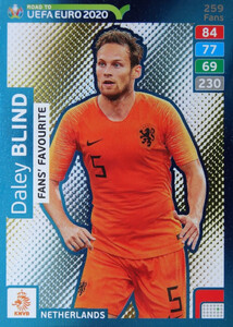 ROAD TO EURO 2020 FANS FAVOURITE Daley Blind #259