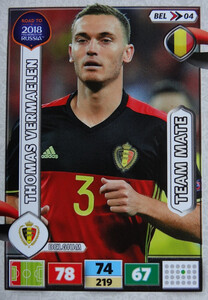 ROAD TO RUSSIA 2018 TEAM MATE BELGIA  VERMAELEN 04