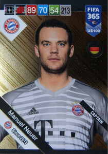 2019 FIFA 365 UPDATE CAPTAINS Manuel Neuer #102