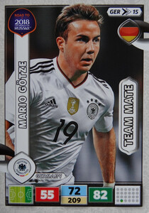 ROAD TO RUSSIA 2018 TEAM MATE NIEMCY GOTZE 15