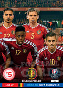 ROAD TO EURO 2016 LINE-UP Belgia #36