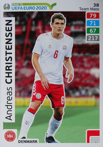 ROAD TO EURO 2020 TEAM MATE Andreas Christensen 38