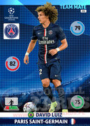 2014/15 CHAMPIONS LEAGUE® TEAM MATE David Luiz #201