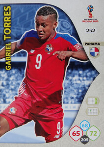 WORLD CUP RUSSIA 2018 TEAM MATE  PANAMA TORRES 252