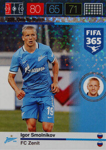 2016 FIFA 365 ONE TO WATCH Igor Smolinikov #225