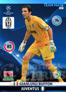 2014/15 CHAMPIONS LEAGUE® TEAM MATE Gianluigi Buffon#145