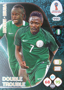 WORLD CUP RUSSIA 2018 DOUBLE TROUBLE NIGERIA 440