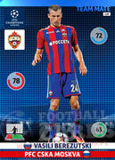 2014/15 CHAMPIONS LEAGUE® TEAM MATE Vasili Berezutski #128