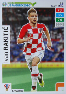 ROAD TO EURO 2020 TEAM MATE Ivan Rakitić 25