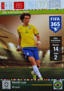 2016 FIFA 365 INTERNATIONAL STAR David Luiz #326