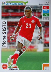 ROAD TO EURO 2020 TEAM MATE  Pione Sisto 42