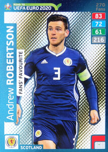 ROAD TO EURO 2020 FANS FAVOURITE Andrew Robertson #270
