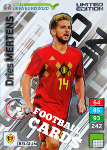 ROAD TO EURO 2020 LIMITED Dries Mertens