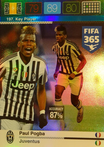 2016 FIFA 365 KEY PLAYER Paul Pogba