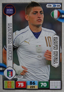 ROAD TO RUSSIA 2018 TEAM MATE WŁOCHY  VERRATTI  08