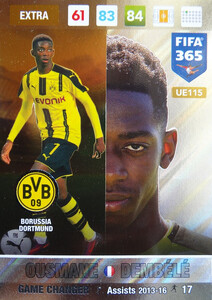 UPDATE 2017 FIFA 365 GAME CHANGER OUSMANE DEMBELE #115