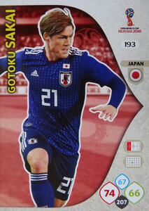 WORLD CUP RUSSIA 2018 TEAM MATE JAPONIA G. SAKAI 193