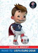 ROAD TO EURO 2016 LOGO Official Mascot #3