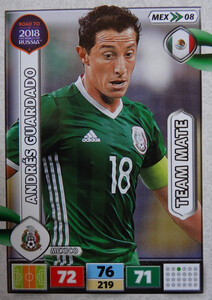 ROAD TO RUSSIA 2018 TEAM MATE MEKSYK  GUARDADO 08