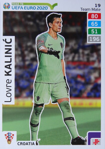 ROAD TO EURO 2020 TEAM MATE Lovre Kalinić 19