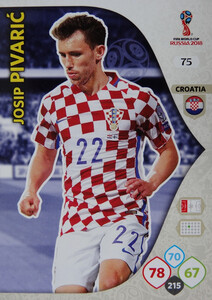 WORLD CUP RUSSIA 2018 CHORWACJA TEAM MATE  PIVARIĆ 75