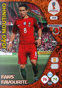 WORLD CUP RUSSIA 2018 FANS FAVOURITE MOUTINHO 391