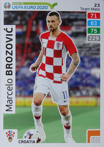 ROAD TO EURO 2020 TEAM MATE Marcelo Brozović 23