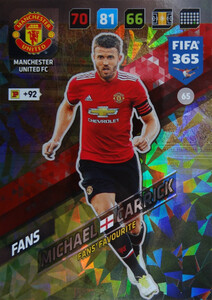 2018 FIFA 365 FANS FAVOURITE Michael Carrick #65