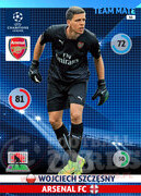 2014/15 CHAMPIONS LEAGUE® TEAM MATE Wojciech Szczęsny #46