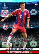 2014/15 CHAMPIONS LEAGUE® TEAM MATE Robert Lewandowski #96