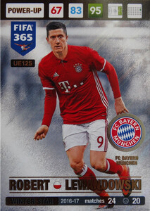 UPDATE 2017 FIFA 365 WINTER STAR ROBERT LEWANDOWSKI #125