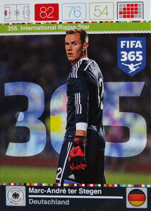 2016 FIFA 365 INTERNATIONAL RISING STAR Stegen #355