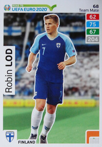 ROAD TO EURO 2020 TEAM MATE Robin Lod 68