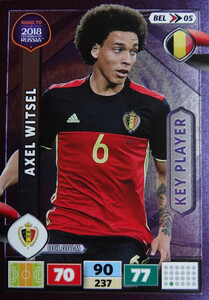 ROAD TO RUSSIA 2018 KEY PLAYER BELGIA  WITSEL 05