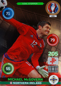 EURO 2016 GOL STOPPER Michael McGovern #209