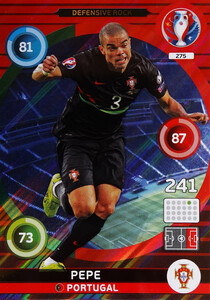 EURO 2016 DEFENSIVE ROCK Pepe #275