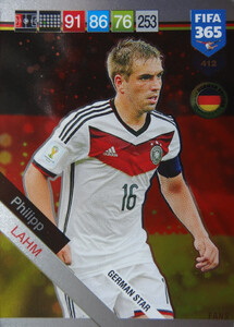 2019 FIFA 365 GERMAN STAR Philipp Lahm #412