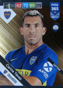 2019 FIFA 365 UPDATE CAPTAINS Carlos Tévez #111