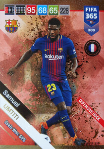 2019 FIFA 365  DEFENSIVE ROCK UMTITI 309