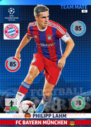 2014/15 CHAMPIONS LEAGUE® TEAM MATE Philipp Lahm #92