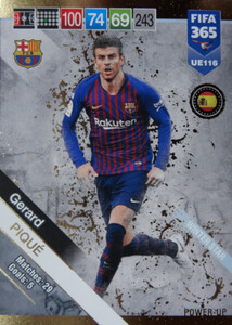 2019 FIFA 365 UPDATE WINTER STAR Gerard Piqué #116