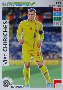 ROAD TO EURO 2020 TEAM MATE  Vlad Chiricheș 173